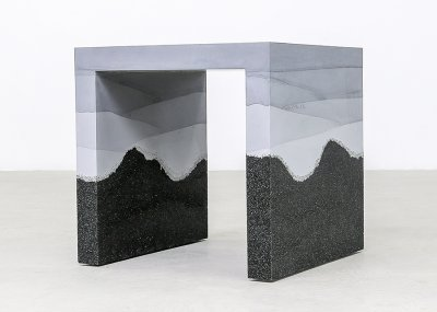 Hauser Ombré Side Table